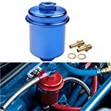 Dewhel JDM Racing Sport High Flow Volume Fuel Filter Honda Civic Accord Acura Integra Blue
