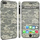 """iPhone [7 Plus] [7S Plus] Full Body Edge to Edge Skin Decal [Easy Apply] [No Bubbles Air Release] - [Acu Camo] for iPhone [7 Plus] [5.5"""" Screen]"""