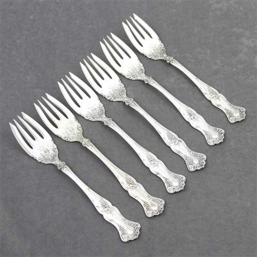 (Vintage by 1847 Rogers, Silverplate Fish Forks, Set of 6)