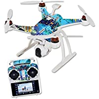 MightySkins Skin For Blade Chroma Quadcopter – Ocean Friends Protective, Durable, and Unique Vinyl Decal wrap cover | Easy To Apply, Remove, and Change Styles | Made in the USA