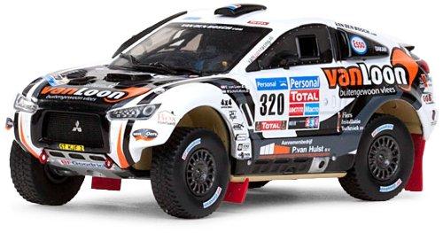 1/43 三菱レーシングランサー #320 E.Van Loon/H.Scholtalbers 2011Dakar Rally 43439