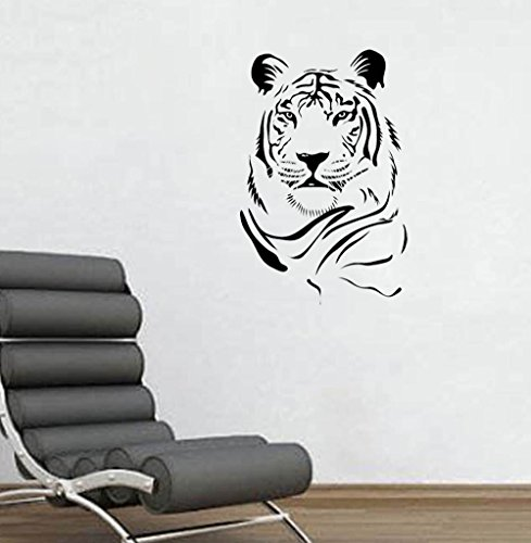 Tiger Face Wall Decal 22