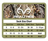 RealTree Men's Womens Kids Insect Shield Crew Socks
