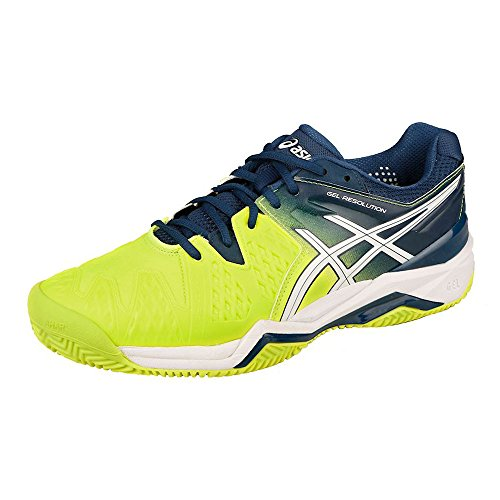 Gel resolution Da Tennis Clay Asics Scarpe Blu 6 Uomo OTxwaqp