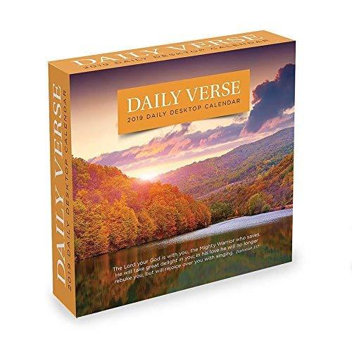2019 Daily Verse Desk Calendar, Bible by TF Publishing - Off Daily Calendar