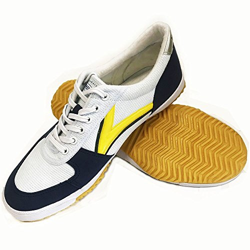 DOUBLESTAR MR Classical Lightweight Kung Fu Shoes,White,US 8.5 Men/ US 9.5 Women