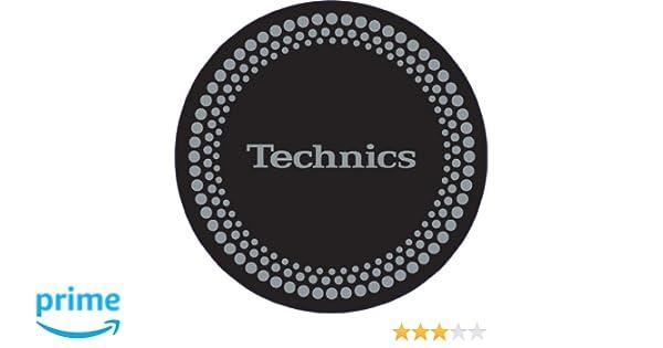 Technics - Patinador para tocadiscos (1 par), color negro y ...