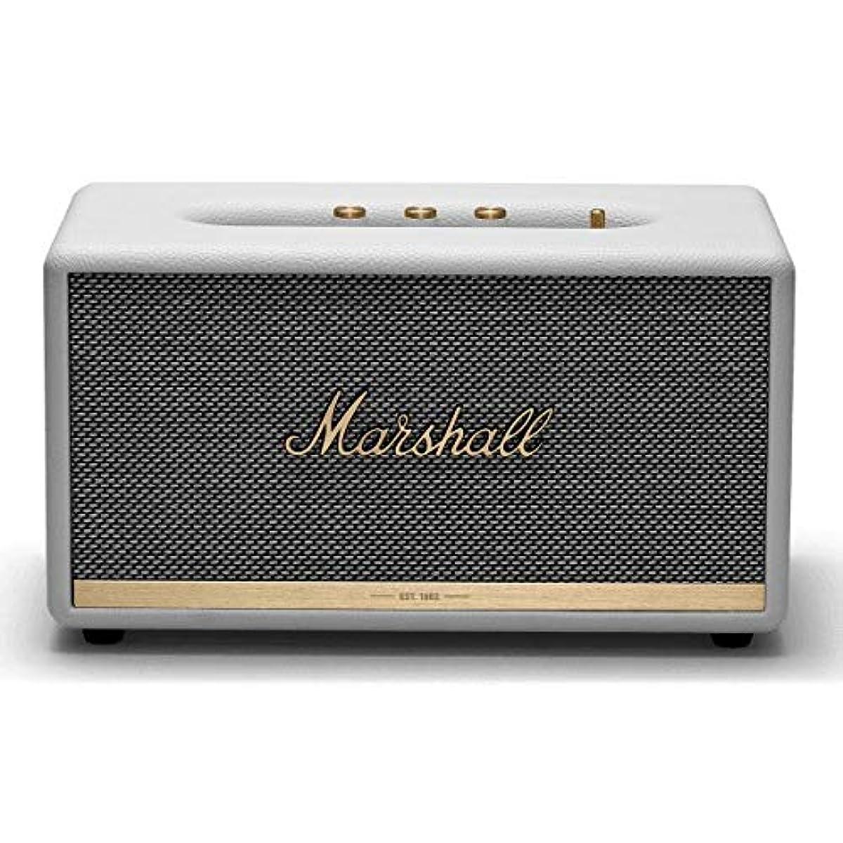 [해외] MARSHALL ZMS-1001903 STAMNORE II BLUETOOTH WHITE BLUETOOTH5.0 탑재 콤팩트 오디오 스피커