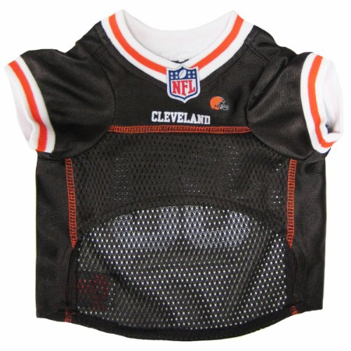 NFL CLEVELAND BROWNS DOG Jersey, Small