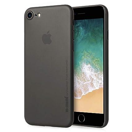 Amazon | iPhone 8 ケース 0.3㎜の 最薄型 最軽量 memumi PP Case ...