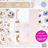 Craft Smith Serenity 12x12 Premium Cardstock Paper Pad