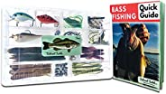 Tailored Tackle Bass Fishing Kit 77 Pc Bass Gear Tackle Box with Tackle Included Crankbait Lures Spinner Baits