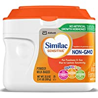 6 Pk. Similac Sensitive Non-GMO 1.41 lb Infant Formula with Iron Formula