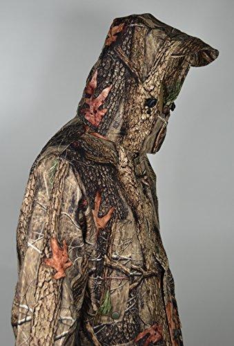 Giacca Due Lati Mimetica Forest Oak Tree Arancione D.C. N 1 Bersagli Nuovo - XXL