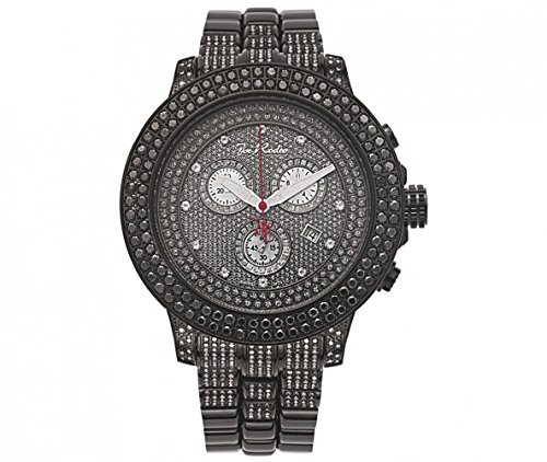 Joe Rodeo Diamond Men's Watch - PILOT black 9.5 ctw