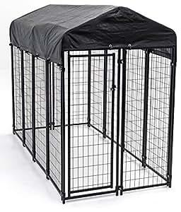 amazon com heavy duty dog cage lucky dog outdoor pet playpen