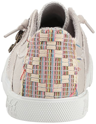 Pictures of Blowfish Women's Fruit Sneaker Sand Grey Sand Grey Smoked Oz Canvas 8