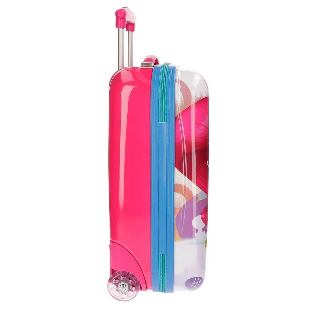 50 cm Rosa Shimmer and Shine Pets Valigia per bambini 26 liters