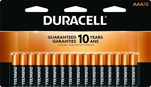 Duracell CopperTop AAA Alkaline Batteries 16 ea