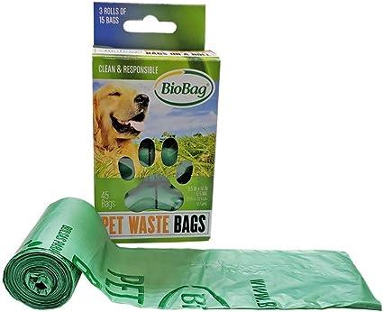 Amazon.com: Bolsas de Residuos de basura de perro/mascota en ...