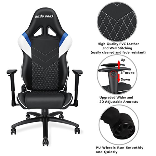 Anda Seat Assassin Series High Back Gaming Chair Recliner
