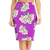 Grh Skirt Elephant Glasses Women's Above Knee Bodycon Suiting Modern Series Pencil Skirt