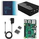 #4: Vilros Raspberry Pi 3 Basic Starter Kit--Premium Black Case Edition