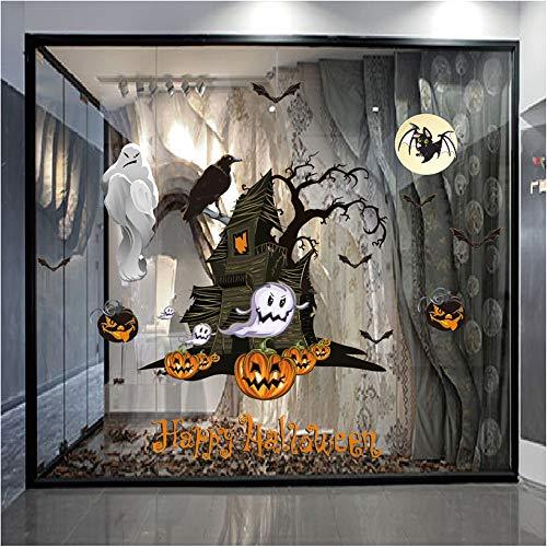 MOKO-PP Halloween Static Electricity Wall Sticker Window Home