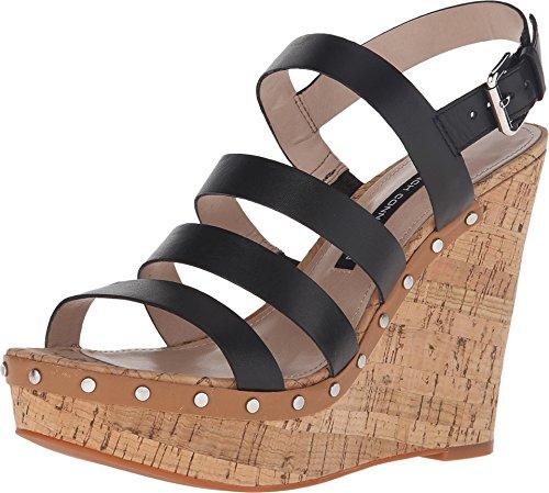 Fcuk Women's Deon Black/Safari Sandal 40.5 (US Women's 9....