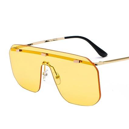 BiuTeFang Gafas de Sol Mujer Hombre Polarizadas Gafas siamés ...