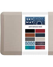 Sky Solutions Anti Fatigue Mat - Cushioned Comfort Floor Mats for Kitchen, Office & Garage - Padded Pad for Office - Non Slip Foam Cushion for Standing Desk