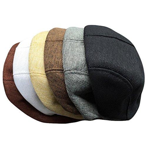 5caf5524165 Amazon.com  Nacome Beret Hat for Men