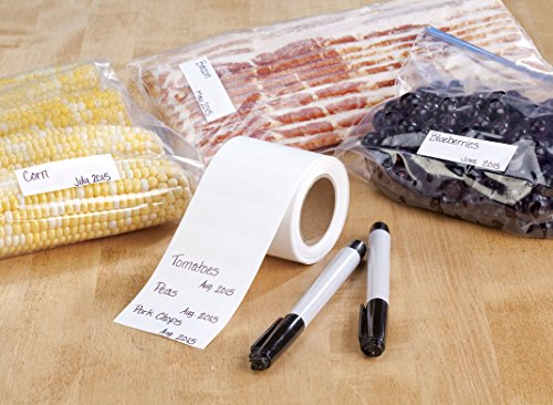 Freezer Labels and Markers Set