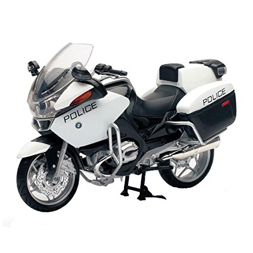 2009 BMW R1200RT-P Police diecast motorcycle Model 1:12 scale die cast by New (New Ray Diecast Motorcycles)