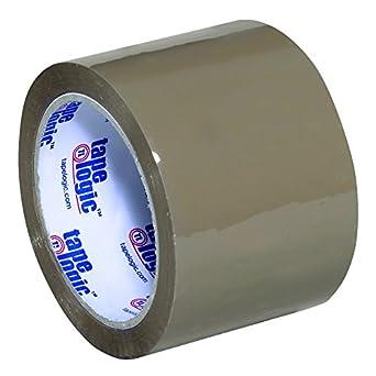24/Case Tape Logic Acrylic Tape 2.6 Mil 3x110 yds. Clear