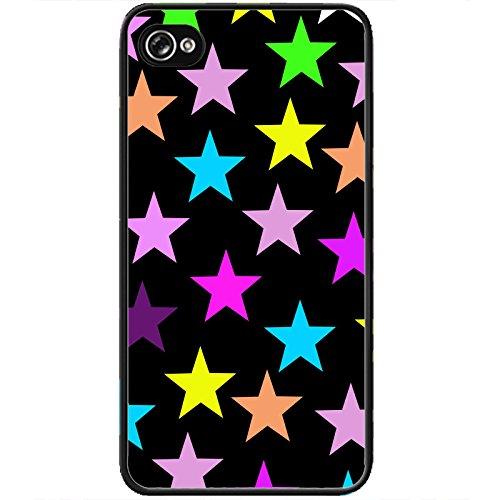 Coque Apple Iphone 4-4s - Stars colors