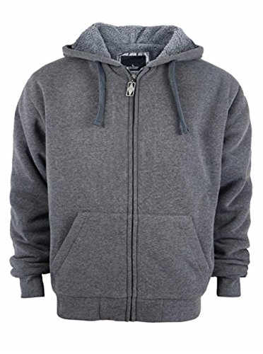 Zipper Hooded Mens Sweatshirt - 9