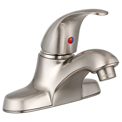 Dura Faucet RV Bathroom Faucet With Solid Zinc Arced Single Lever For  Recreational Vehicles, Motorhomes