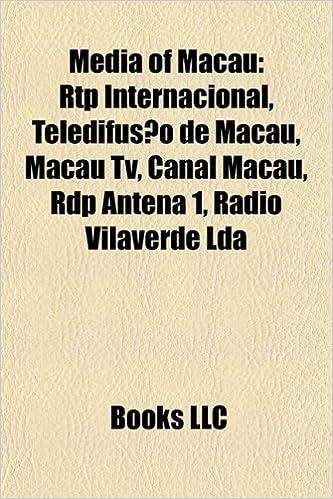 Media of Macau: Rtp Internacional, Teledifusao de Macau ...