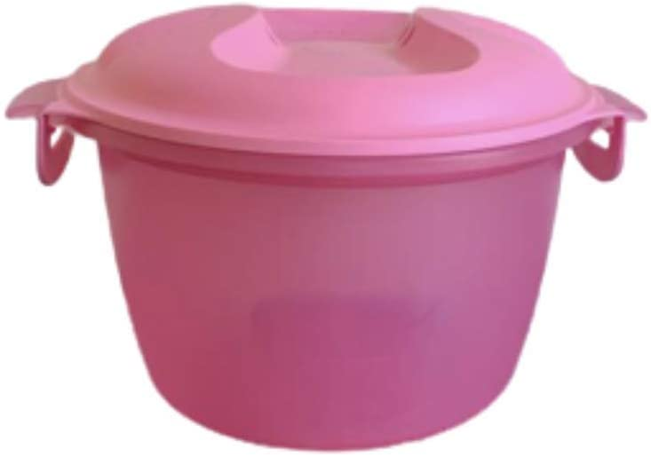 MICROWAVE Rice Maker Cooker Steamer, Baby Pink