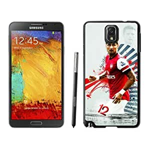 Durable Case Olivier Giroud 4 Samsung Galaxy Note 3 Case in Black