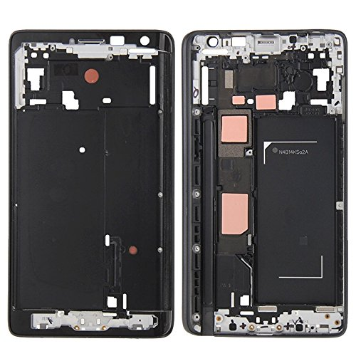iPartsBuy Front Housing LCD Frame Bezel Plate Replacement for Samsung Galaxy Note Edge - Screen Edge Note Replacement