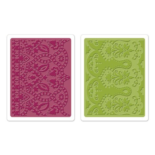 Sizzix Textured Impressions Embossing Folders 2/Pkg Moroccan Daydreams by Sizzix