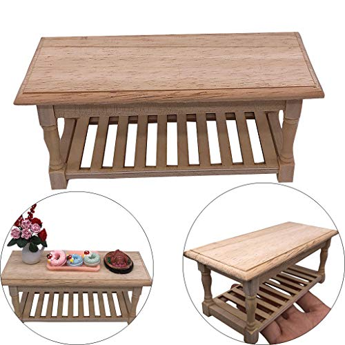 m·kvfa 1:12 Mini Dollhouse Furniture Miniature Wooden for sale  Delivered anywhere in USA