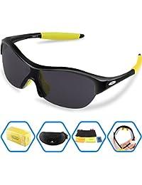 Torege Tr90 Flexible Kids Sports Sunglasses Polarized...