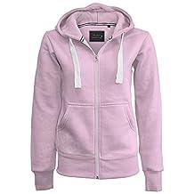 Ladies Girl NEW PLUS SIZE Zip Up Sweatshirt Hooded Hoodie Coat Jacket Top 8-5XL