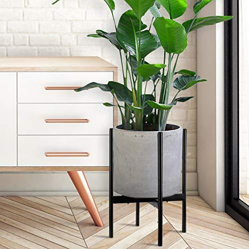 Mid Century Indoor Plant Stand Width 11