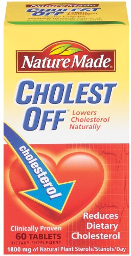 Nature Made Cholest-Off with Reducol, 60 Softgels (Pack of 2)