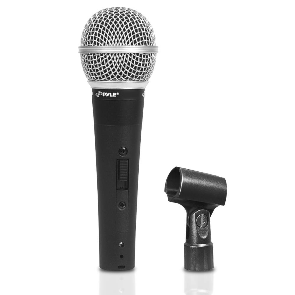 Pyle PDMIC60CL Professional Dynamic Microphone, Unidirectional Handheld Mic