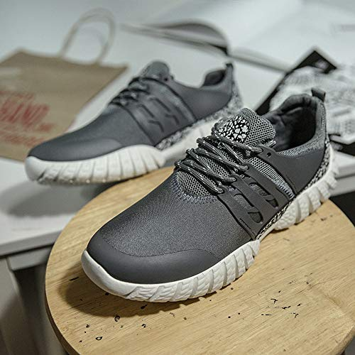 Fitness De Chaussures Confortable Casual Femme Sport chaussures Lacets Air Gris Sneakers Basket Plat Plein Hiver Mode Running Rbnb Y68qU
